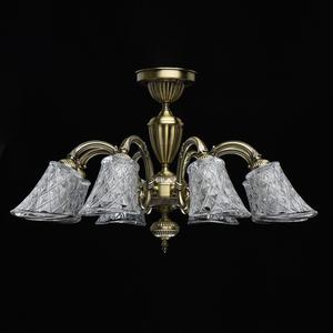 Lampa wisząca  Classic 8 Mosiądz - 450019208 small 5