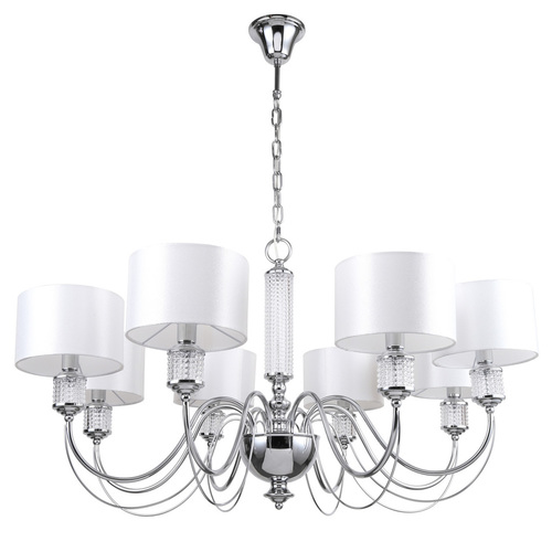 Lampa wisząca  Elegance 8 Chrom - 692011308