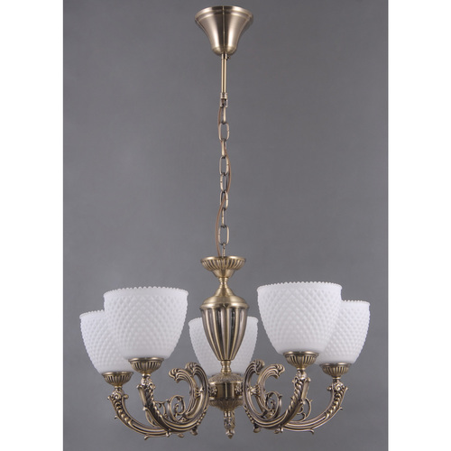 Lampa wisząca Felice Classic 5 Mosiądz - 114010205