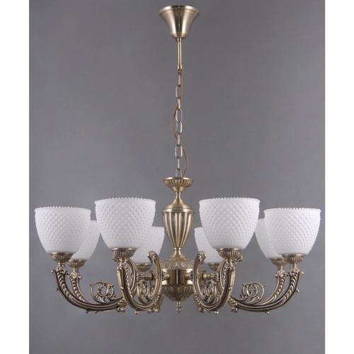 Lampa wisząca Felice Classic 8 Mosiądz - 114010308