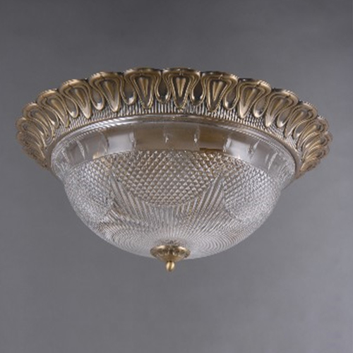 Lampa wisząca Ariadna Classic 3 Mosiądz - 450019403