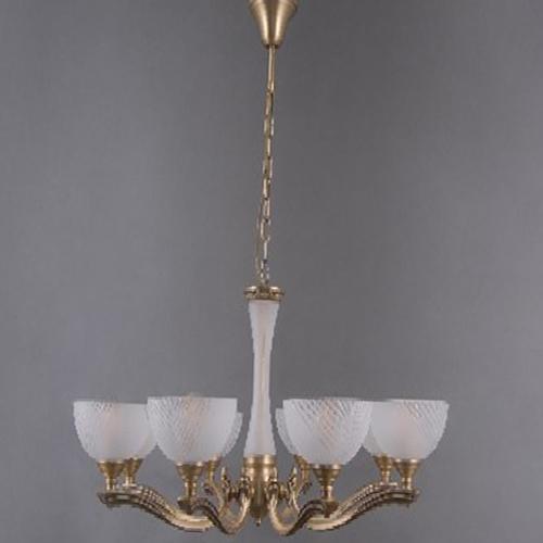 Lampa wisząca Aphrodite Classic 8 Mosiądz - 317014808