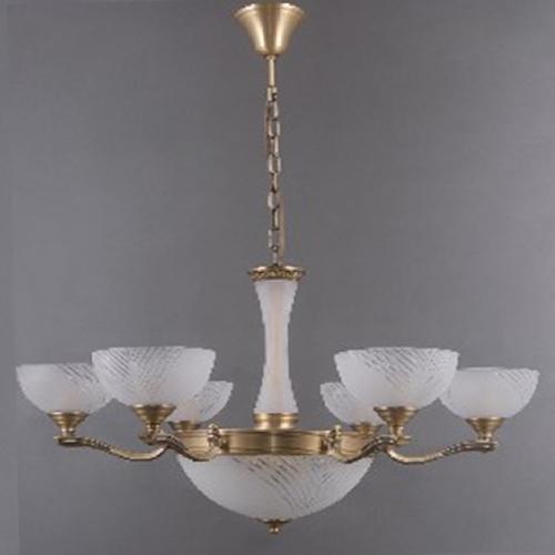 Lampa wisząca Aphrodite Classic 9 Mosiądz - 317014909