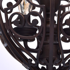 Lampa wisząca Magdalena Country 3 Brązowy - 389010903 small 13
