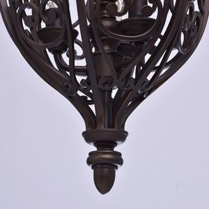 Lampa wisząca Magdalena Country 3 Brązowy - 389010903 small 2