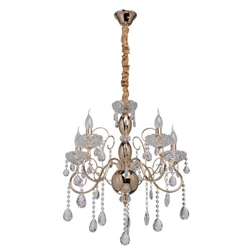 Lampa wisząca Adele Crystal 5 Złoty - 373011205