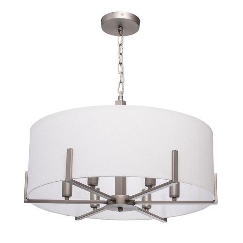 Lampa wisząca Daphne Megapolis 6 Szary - 453011906
