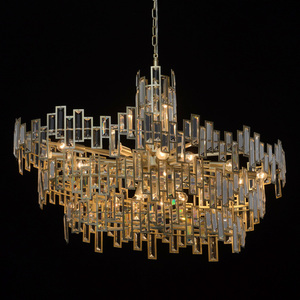 Lampa wisząca Monarch Crystal 20 Złoty - 121010820 small 1