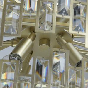 Lampa wisząca Monarch Crystal 20 Złoty - 121010820 small 4