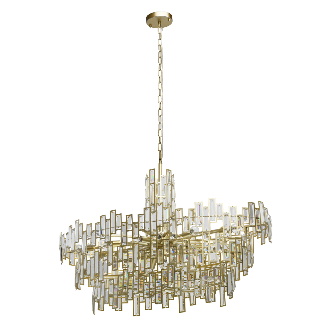 Lampa wisząca Monarch Crystal 20 Złoty - 121010820