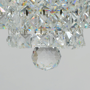 Lampa wisząca Adelard Crystal 5 Chrom - 642010905 small 2