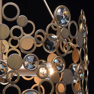 Lampa wisząca Monarch Loft 4 Mosiądz - 121011104 small 6
