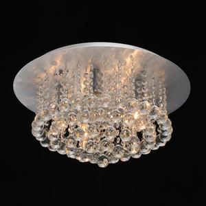 Lampa wisząca Venezia Crystal 5 Srebrny - 276014605 small 1