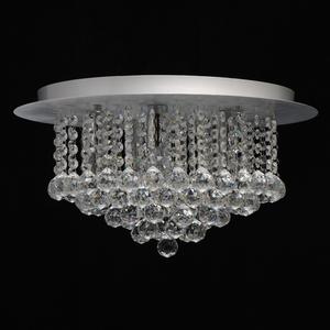 Lampa wisząca Venezia Crystal 5 Srebrny - 276014605 small 3