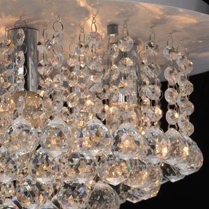 Lampa wisząca Venezia Crystal 5 Srebrny - 276014605 small 4