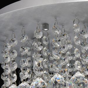Lampa wisząca Venezia Crystal 5 Srebrny - 276014605 small 6