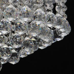 Lampa wisząca Venezia Crystal 5 Srebrny - 276014605 small 9