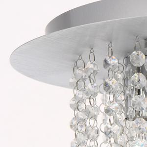 Lampa wisząca Venezia Crystal 5 Srebrny - 276014605 small 10