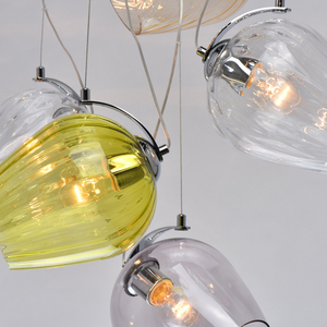 Lampa wisząca Bremen Megapolis 9 Chrom - 606011009 small 9