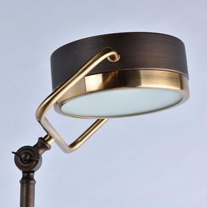 Lampa Podłogowa Hamburg Loft 1 Mosiądz - 605041601 small 3