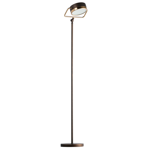 Lampa Podłogowa Hamburg Loft 1 Mosiądz - 605041601