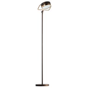 Lampa Podłogowa Hamburg Loft 1 Mosiądz - 605041601 small 0