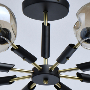Lampa wisząca Hamburg Megapolis 8 Czarny - 605012908 small 11