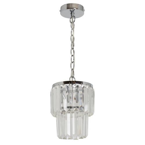 Lampa wisząca Adelard Crystal 1 Chrom - 642014201