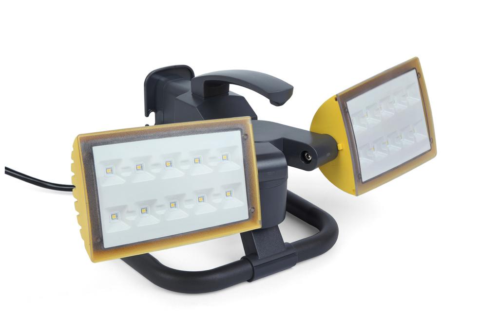 PERI Portable  Work Light Work Lights 2 heads