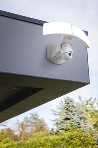 LIBRA Wall PIR Camera Security Lights Secury'Light 2 heads small 1
