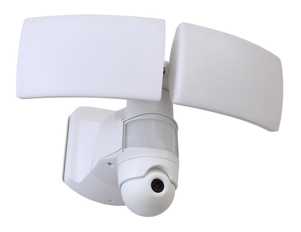 LIBRA Wall PIR Camera Security Lights Secury'Light 2 heads