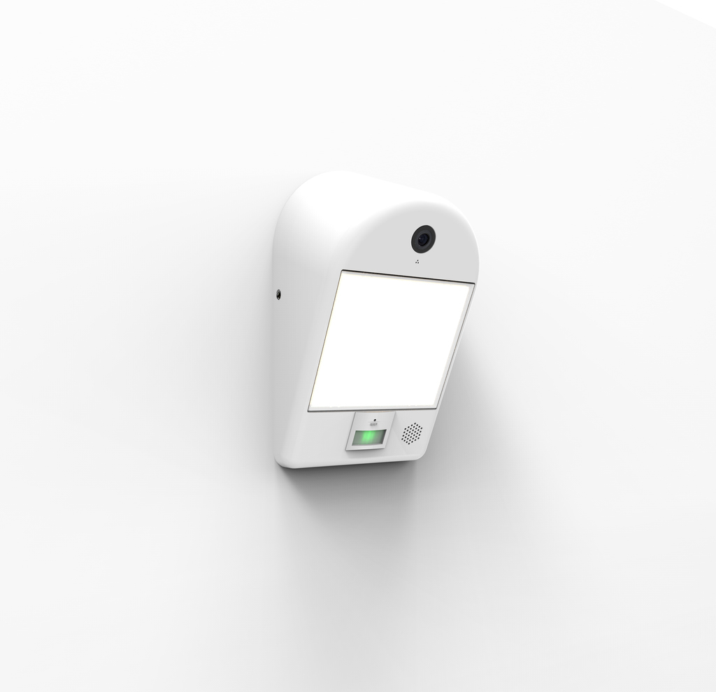 MIMO Wall camera Security Lights Secury'Light 1 head