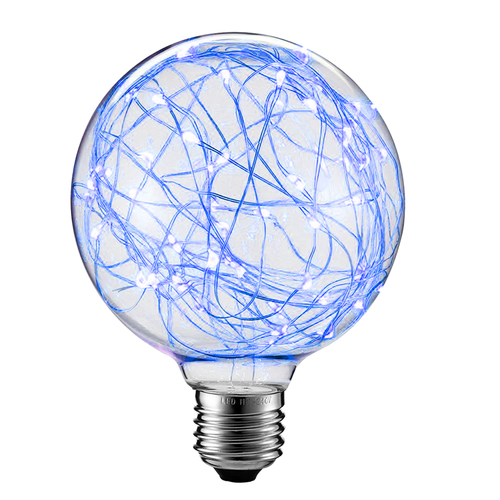 Żarówka Dekoracyjna LED Świetliki G125 E27 2W 230V Niebieska