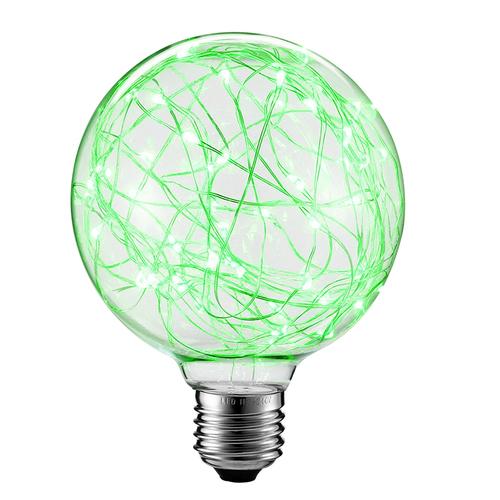 Żarówka Dekoracyjna LED Świetliki G125 E27 2W 230V Zielona