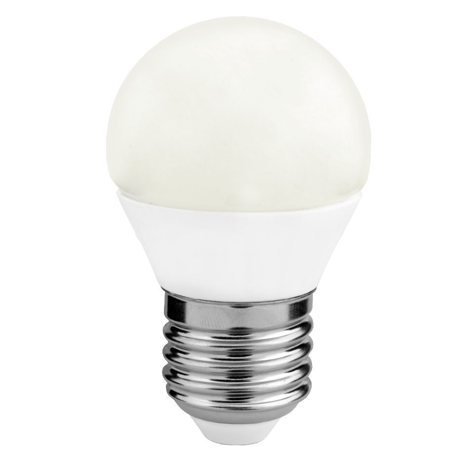Źródło światła LED G45 4W E27 RGB