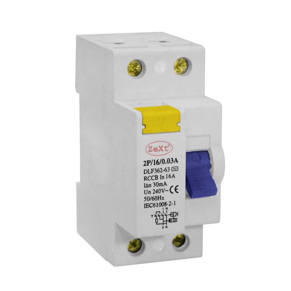 Wyłącznik różnicowo-prądowy DLF 2P 25A 300mA