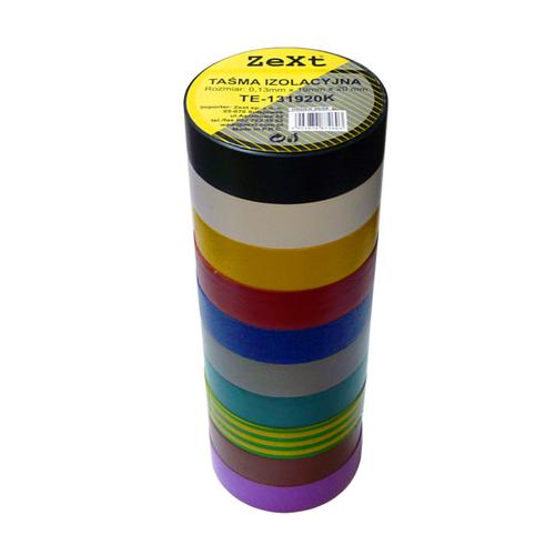 Taśma izolacyjna kolor  0,13X19X10
