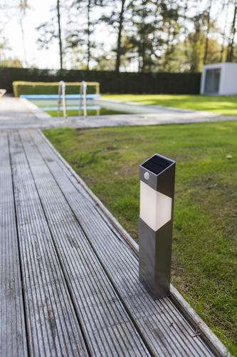 SOLSTEL Bollard PIR Solar Integrated panel PIR Sensor