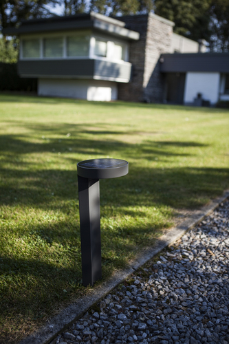 DISO Bollard Solar Integrated Panel PIR Sensor