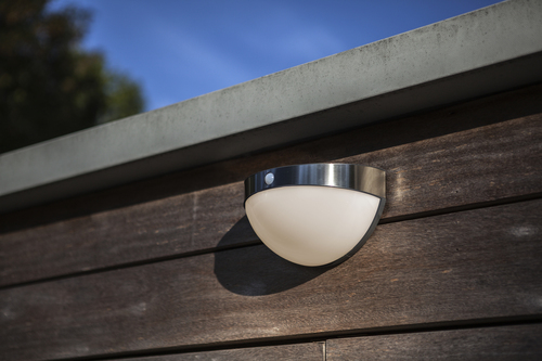 BUBBLE Wall PIR Solar Integrated Panel PIR Sensor