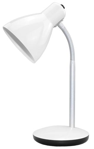 Lampa biurkowa Amy 230V/15W E27 biała
