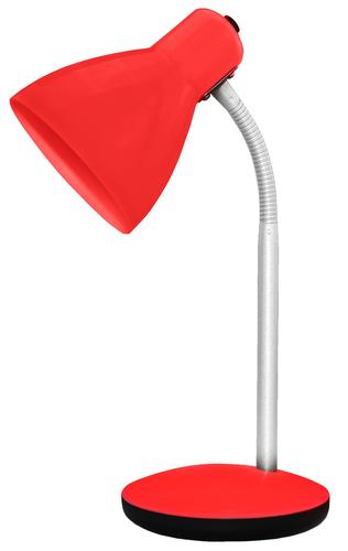Lampka biurkowa AMY 15W E27 Czerwony