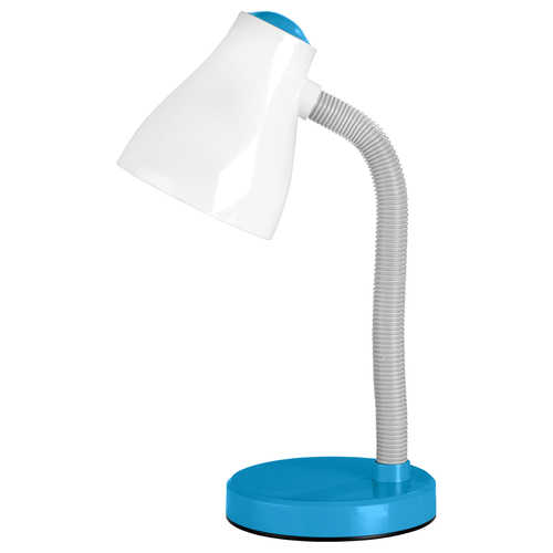 Lampka biurkowa EVA 15W E30 Niebieski
