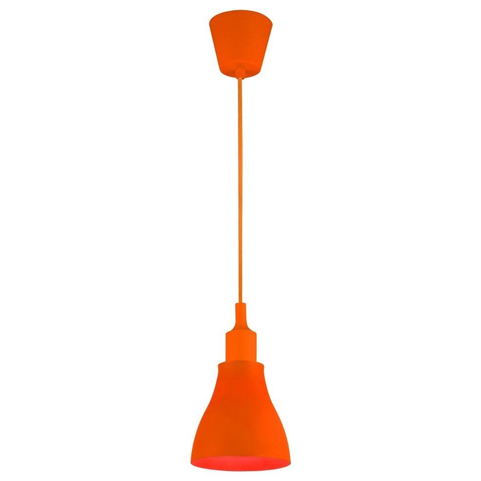 Lampa sufitowa Moderna K2 E27 60W pomarańczowa