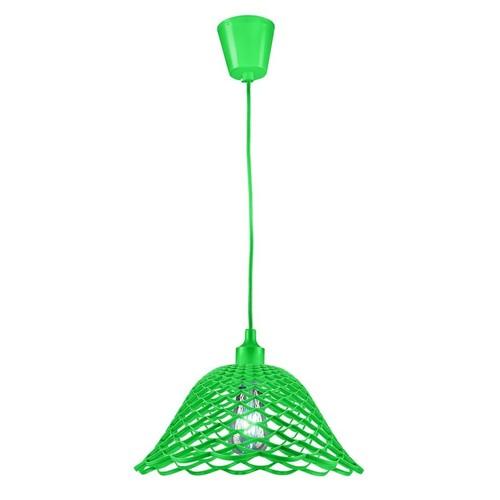 Lampa sufitowa Moderna K3 E27 60W zielona