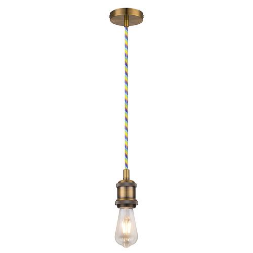 Lampa sufitowa VOLTA01 E27 60W antyczne złoto