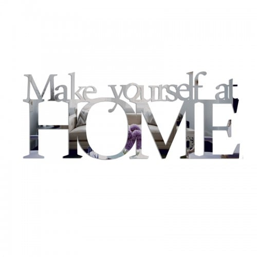 Lustro dekoracyjne MAKE YOURSELF AT HOME plexi