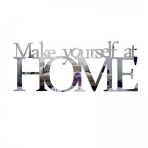Lustro dekoracyjne MAKE YOURSELF AT HOME plexi