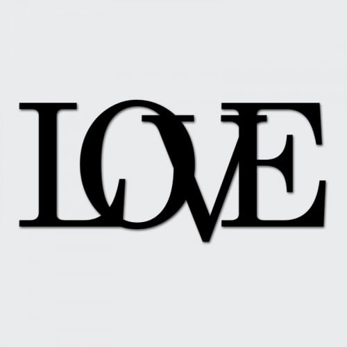 Próbka napisu LOVE
