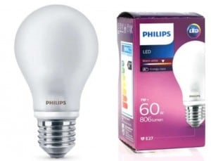 Żarówka PHILIPS LED E27 A60 7W 806 lumen